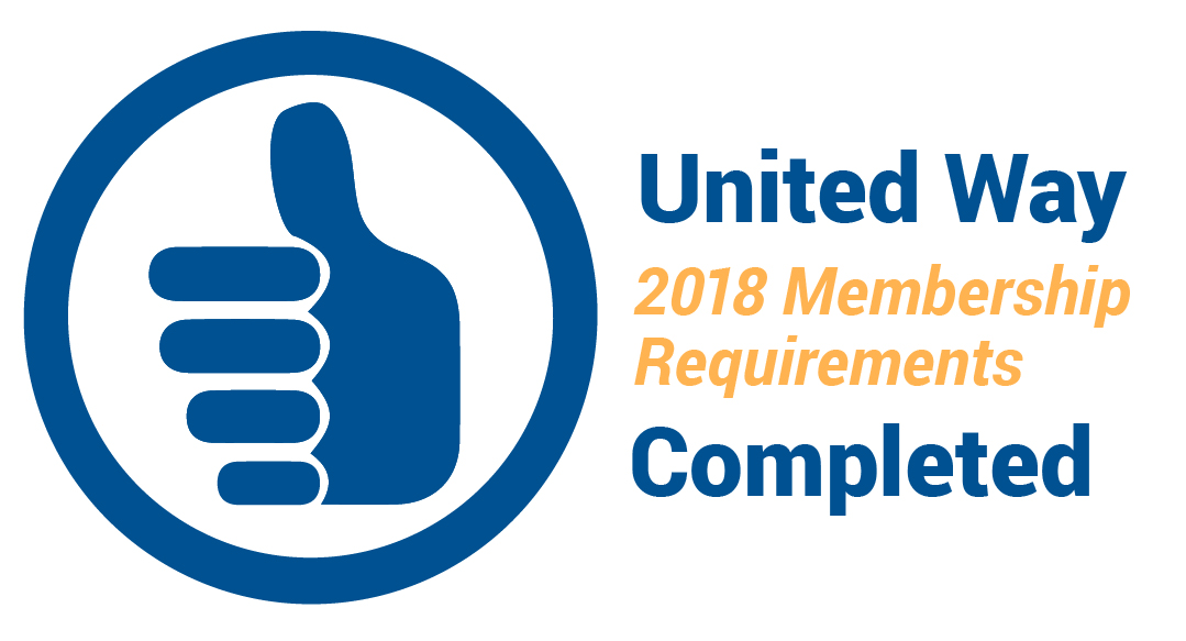 2018 Membership Requirements Completed