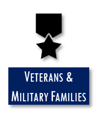 Click here to explore programs for Veterans & Military Families